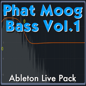 Phat Moog Bass Vol. 1 Ableton Live Pack   No one does bass like Moog. Features 40 Ableton Live Instruments made from samples of Mood Sub Phatty, programmed for thunderous low end.