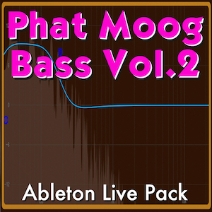 Phat Moog Bass Vol. 2 Ableton Live Pack   20 Bass-centric Ableton Live Instruments and 7 Audio Effect Racks designed for maximum bass! Built from samples of Moog Sub Phatty analog synthesizer.