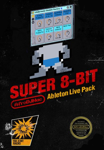 Super 8-Bit Ableton Live Pack Classic video game sounds in your music. 150 authentic chip-tune Instruments from samples of Nintendo, Gameboy, Super Nintendo and Sega Genesis.