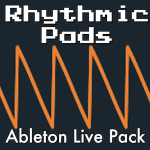 Rhythmic Pads Ableton Live Pack   Synth pads that move to your music. 78 tempo-synced Ableton Live Instrument Racks. Create complex rhythmic textures with the turn of a few Macro Controls.