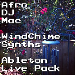 Wind Chime Instruments Ableton Live Pack   A beautiful set of wind chimes, sampled into a collection of Ableton Live Instruments. Includes 4 Audio Effect Racks and 4 Live Sets of music made with the Pack.