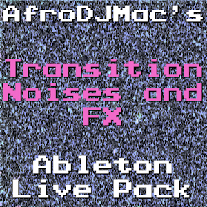 Transition Noises and FX Ableton Live Pack Create exciting and dramatic changes. Perfect for builds and transitions in your music. Contains 9 Instrument Racks, 4 Performance Effects, 100 tempo-synced clips.