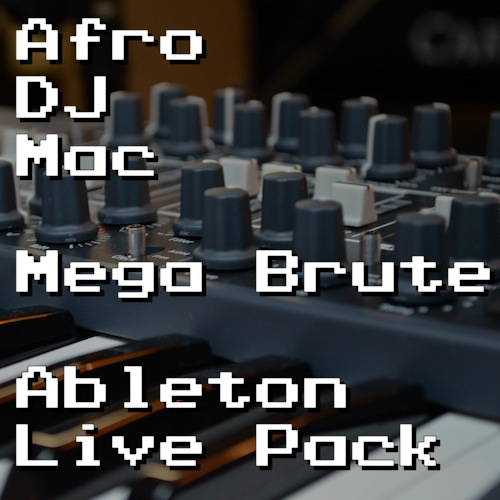 Mega Brute Ableton Live Pack   The unique Brutal sound of Arturia's MiniBrute analog synth is captured in 50 Ableton Live Instrument Racks. Includes 4 Live Sets of original music made with the Pack.