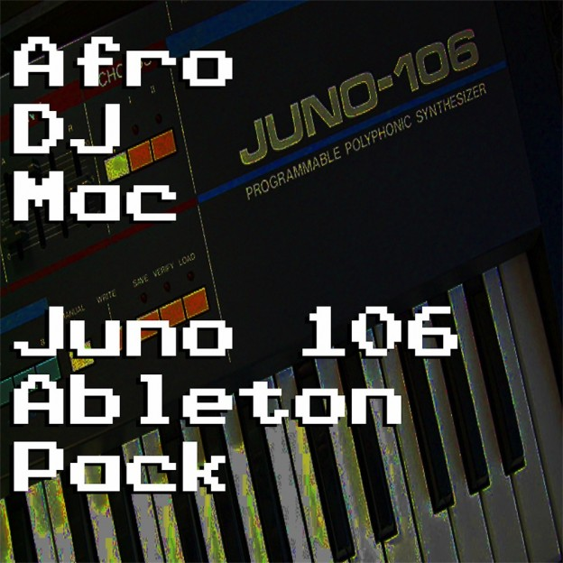 Roland Juno 106 Ableton Live Pack   Wide variety of vintage analog synth sounds sampled from the Roland Juno 106. 22 Ableton Live Instrument Racks that capture the essence of this classic synth.