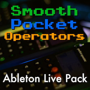 Smooth Pocket Operators Ableton Live Pack   The unique character of Teenage Engineering's Pocket Operators. Features 48 Live Clips, 32 Instrument Racks, 200+ Samples, and Live Set.