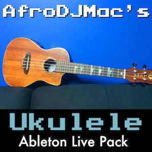 Ukulele Instruments Ableton Live Pack A Hawaiian classic! 18 Ableton Live Instruments built from a multi-sampled Ukulele. Contains easy to play chords, plucked strings, and experimental reversed instruments.