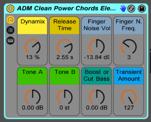 Clean Electric Guitar Power Chords