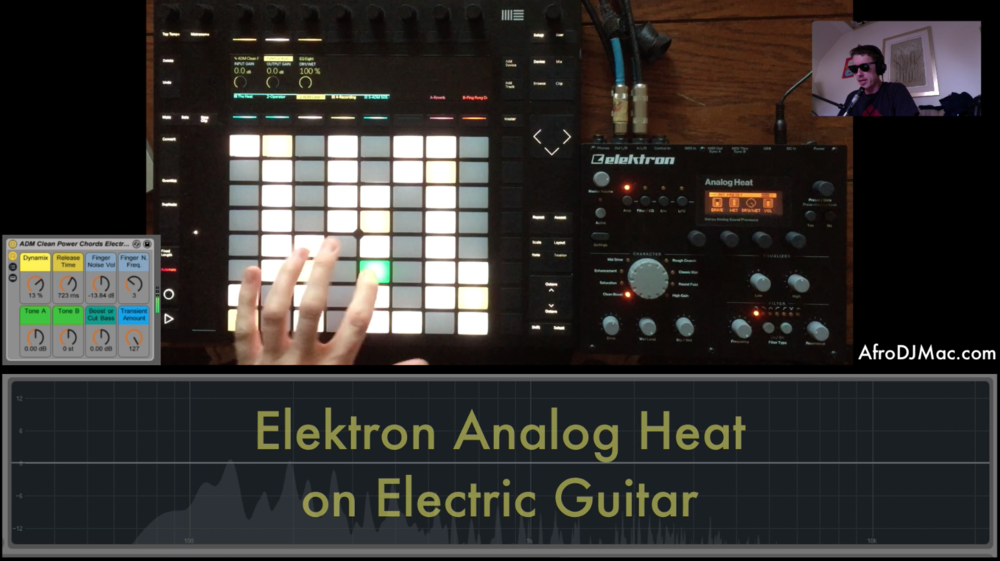 Elektron Analog Heat And Electric Guitar Power Chords Afrodjmac