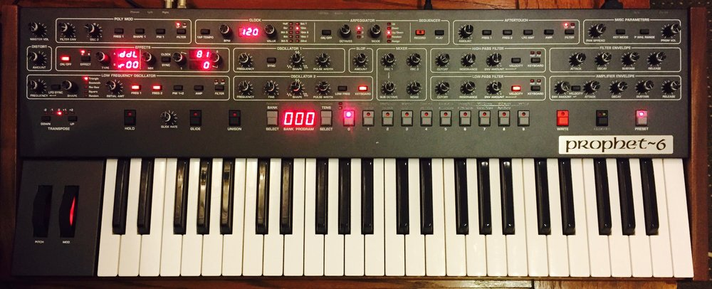 The Sequential Circuits Prophet 6 Analog Synthesizer