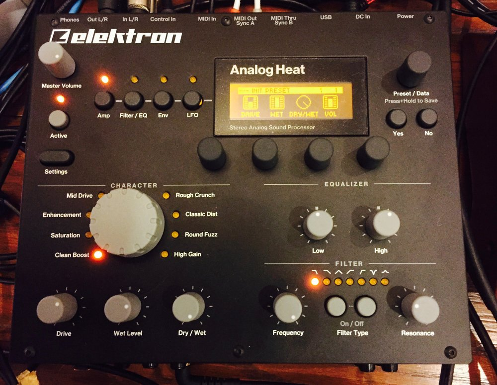 The Elektron Analog Heat Stereo Analog Sound Processor