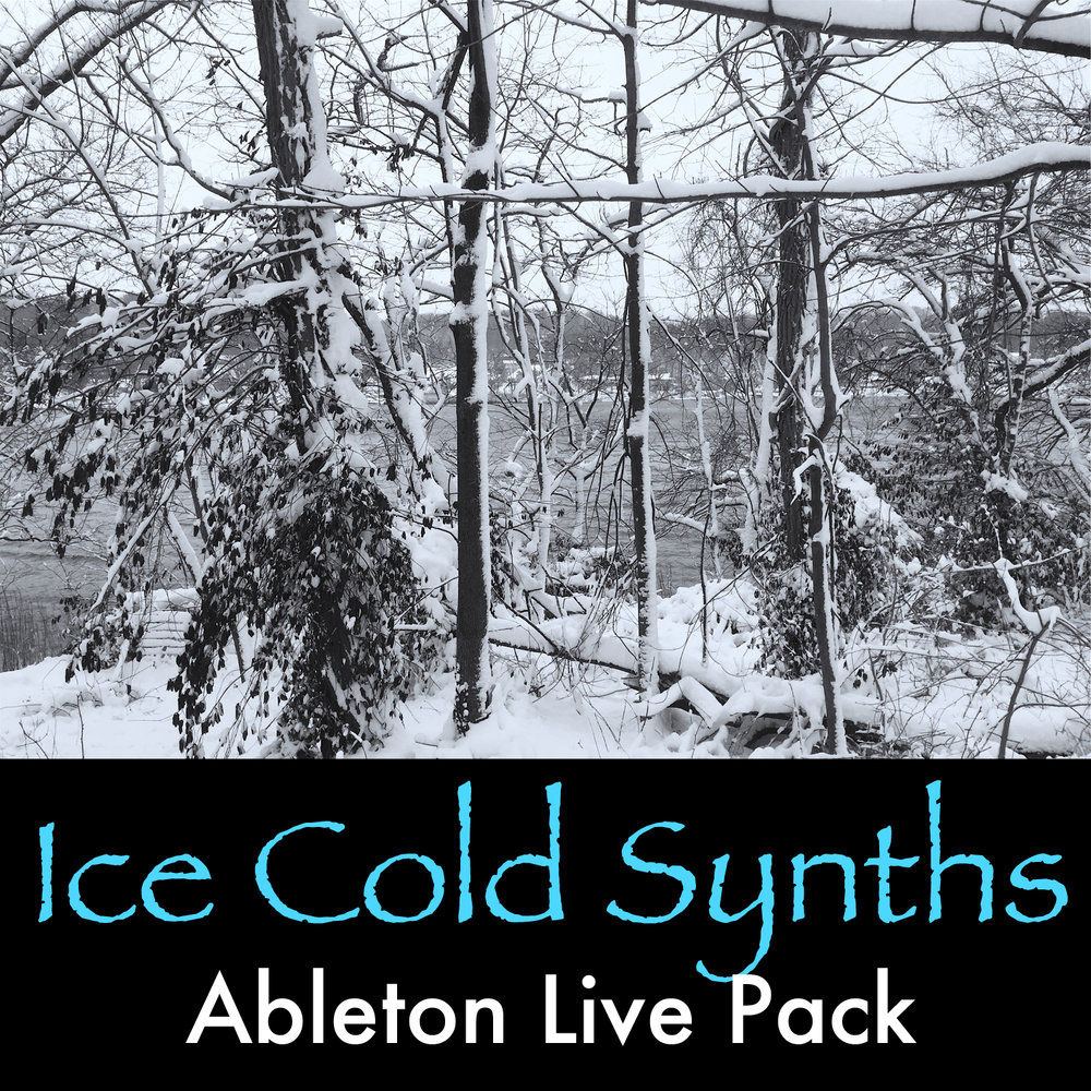 Ice Cold Synths  Ableton Live Pack   40 Winter-inspired Ableton Live Instrument Racks built from samples of hardware and virtual synths that capture the sound of cold, ice, and winter.