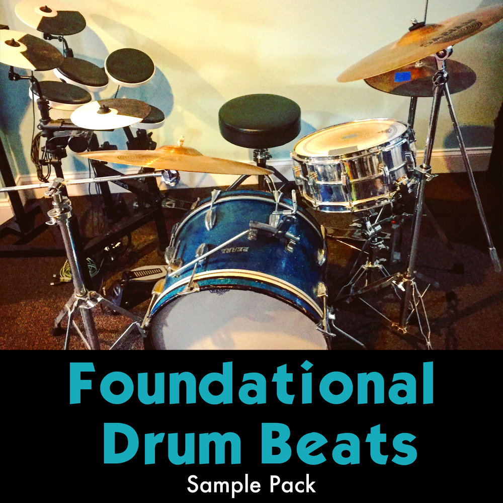 Foundational Drum Beats Sample Pack 275 acoustic drum loops recorded  through the Elektron Analog Heat. Solid and useful beats, perfect for finding inspiration quickly and building tracks.