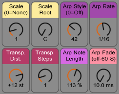 Customizable Arpeggiations