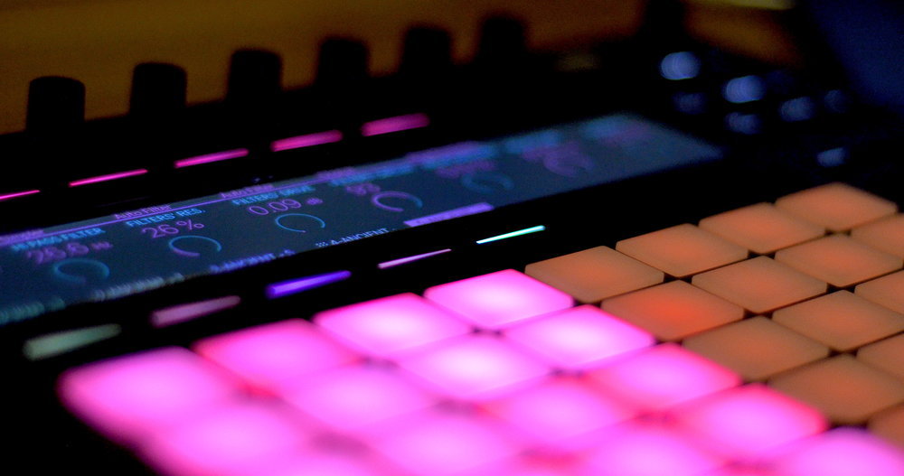 ANCIENT is optimized for a Push workflow and other modern MIDI controllers
