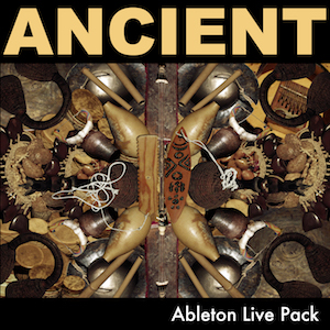 ANCIENT Ableton Live Pack   ANCIENT is a collection of 104 Ableton Live Instrument and Drum Racks all made from samples of instruments that date back to prehistoric times.