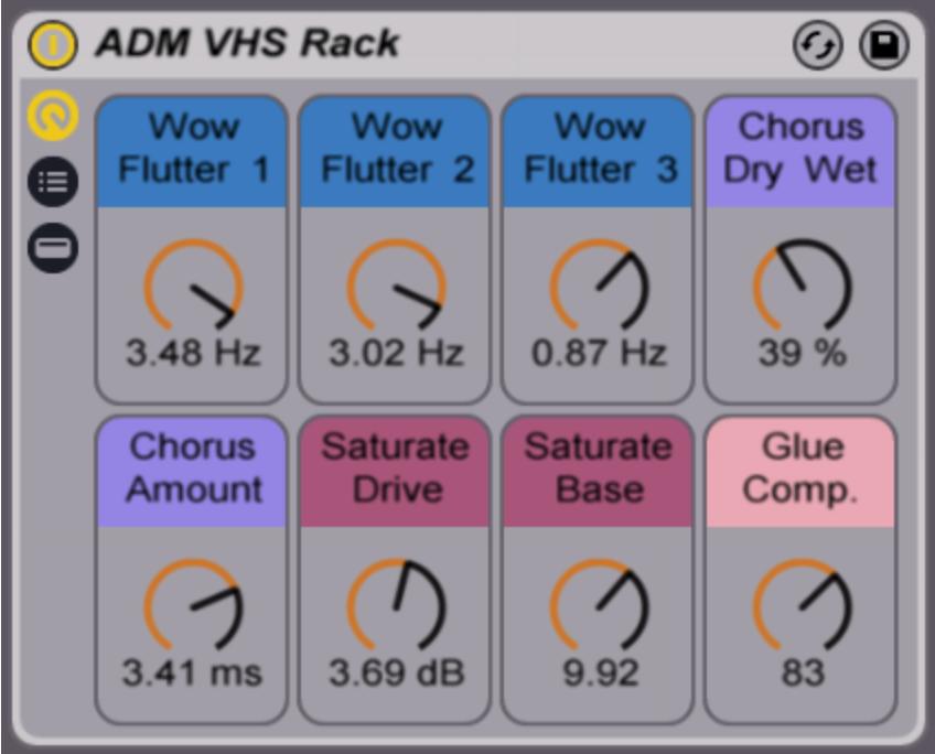 Free Ableton Live Pack # 80: VHS Rack — Brian Funk