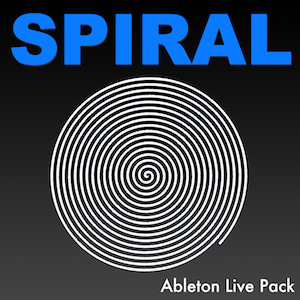 SPIRAL Ableton Live Pack   Unique, moving Ableton Instruments made with dense looping textures of electronic and acoustic instruments, as well as noises and sound effects.