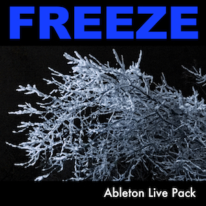 FREEZE Ableton Live Pack   Create dense textures and soundscapes using the Audio Effect Racks. Includes Instrument Racks for deep and evolving textures and soundscapes.