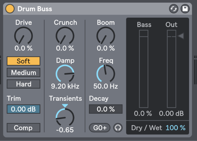 Ableton's Drum Buss for Noise Reduction - 2 Minute Ableton