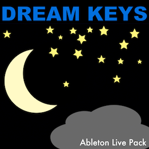 DREAM KEYS Ableton Live Pack   50 dreamy, nighttime, lullaby style Ableton Live Instrument Racks. Built from samples of Prophet 6, Moog Concertmate, and Korg Volca FM synthesizers.
