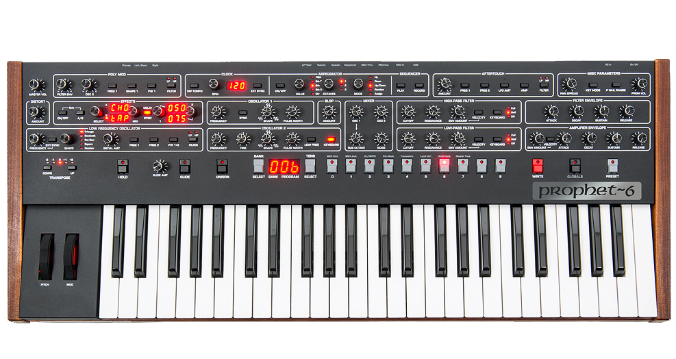 Sequential Circuits Prophet 6