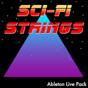 SCI-FI STRINGS Ableton Live Pack   30 Science Fiction Inspired synth string instruments for Ableton Live. Programmed from hardware and software synths and run through guitar pedals and VST FX.