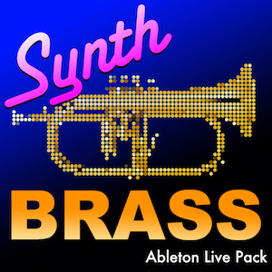 SYNTH BRASS Ableton Live Pack   32 Ableton Live Instrument Rack synthesized brass Presets, sampled from the Prophet 6 analog synthesizer. Each preset has 20 Macro Controls for customization.