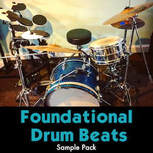 FOUNDATIONAL DRUM BEATS - 275 acoustic drum loops to quickly start making tracks.
