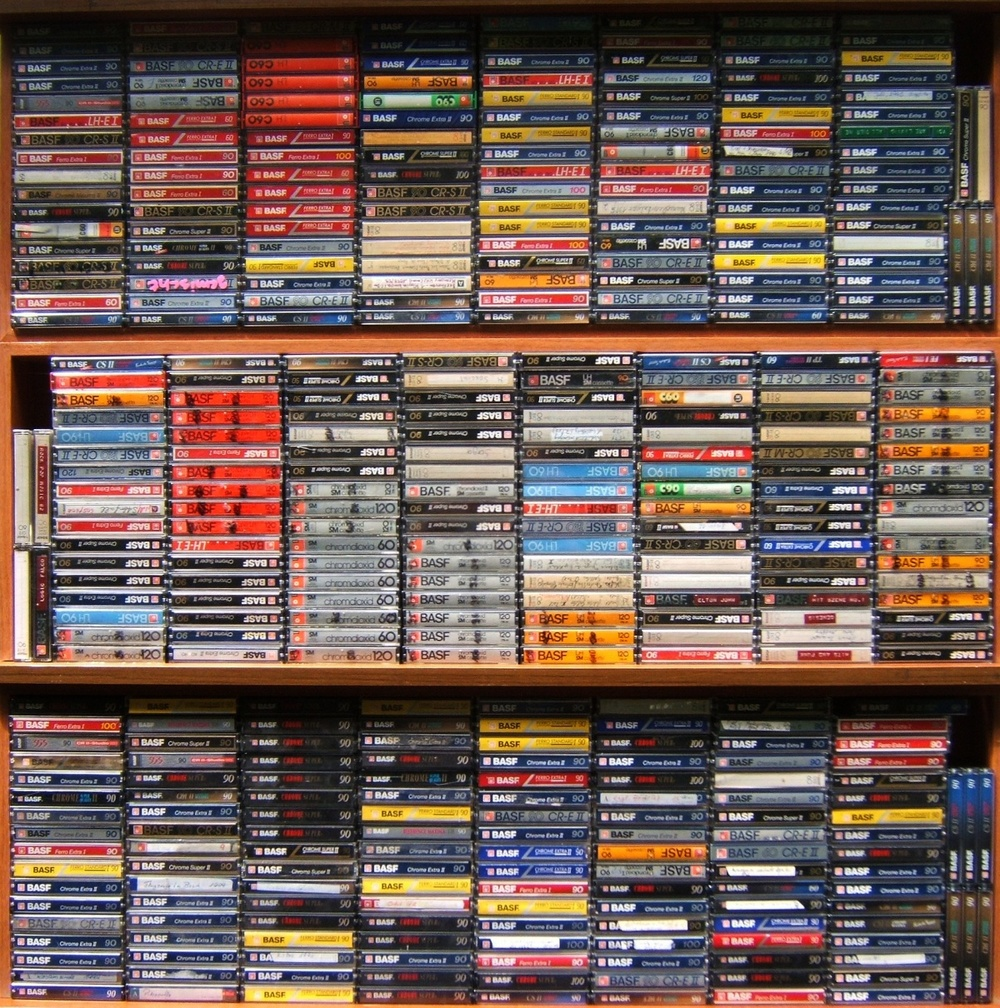 Flickr: cassettes
