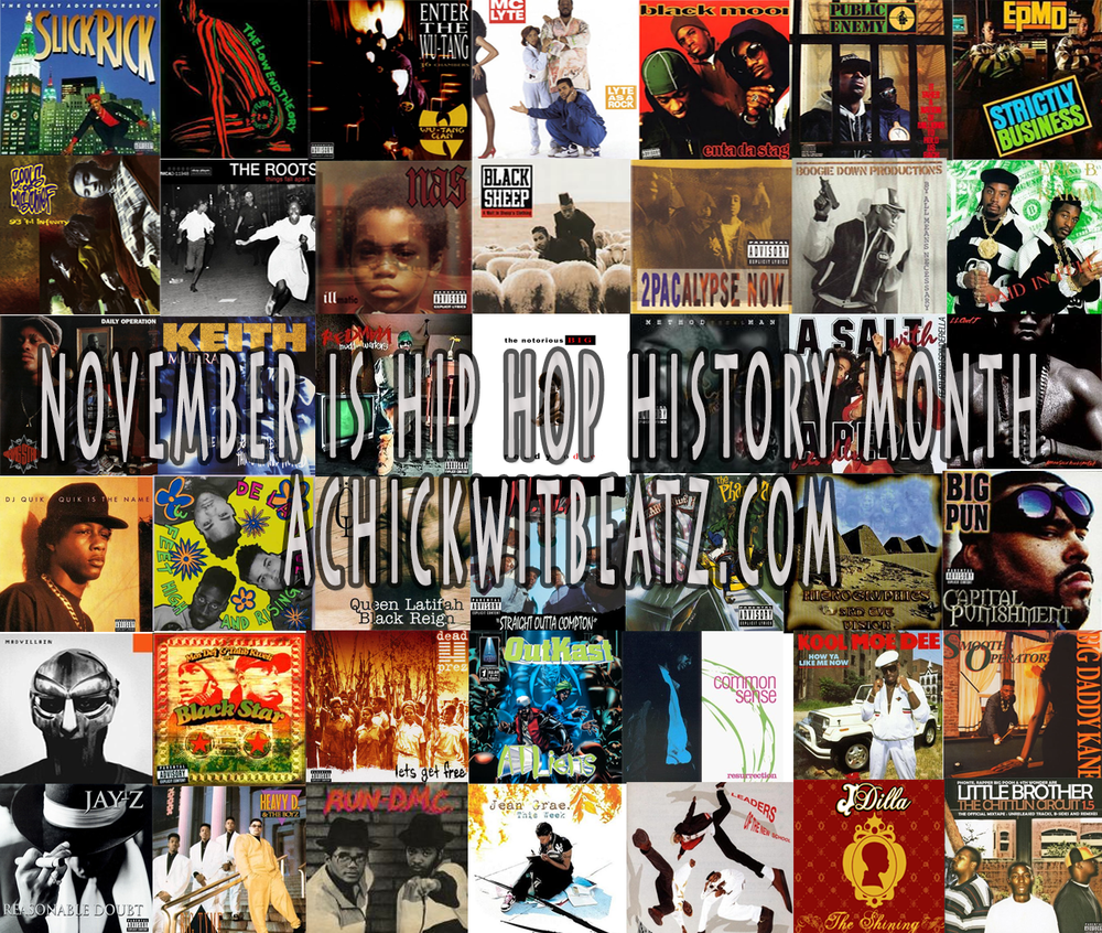 Hip Hop Photo Collage