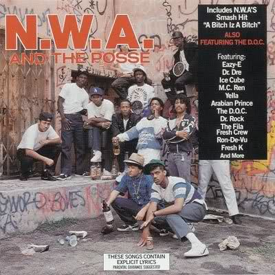 "November 6, 1987 N.W.A. dropped ""N.W.A. and the Posse"""