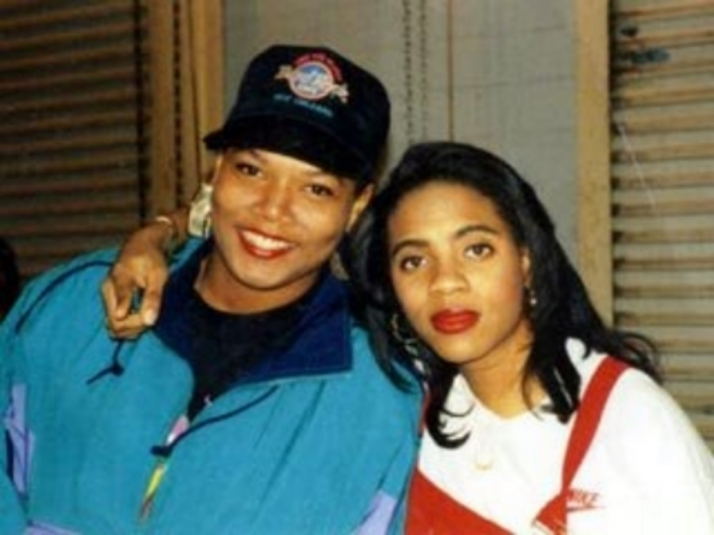 Queen Latifah in the 80s!! Female rapper who penned Ladies