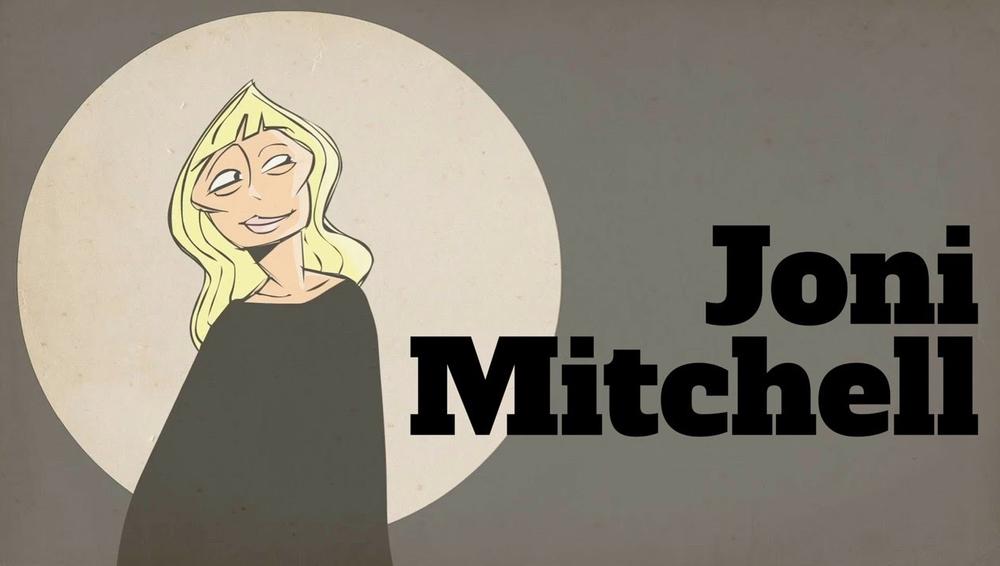 Joni Mitchell Blank On Blank on Achickwitbeatz.com