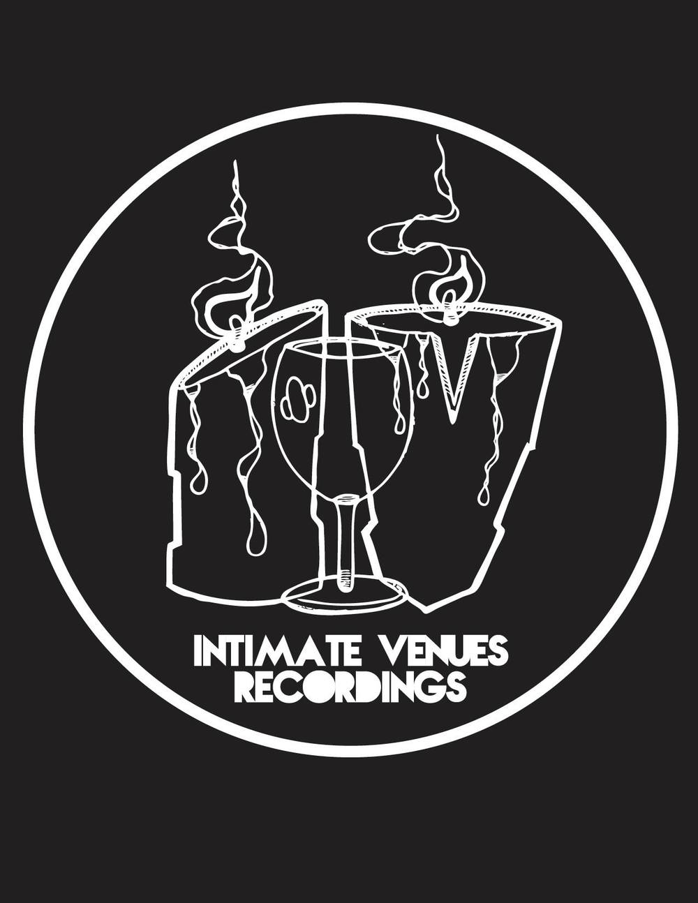 Intimate Venues Recordings logo designed by Cedric Umoja