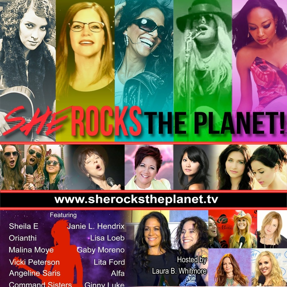 She Rocks the Planet!