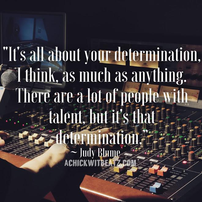 Determination quote