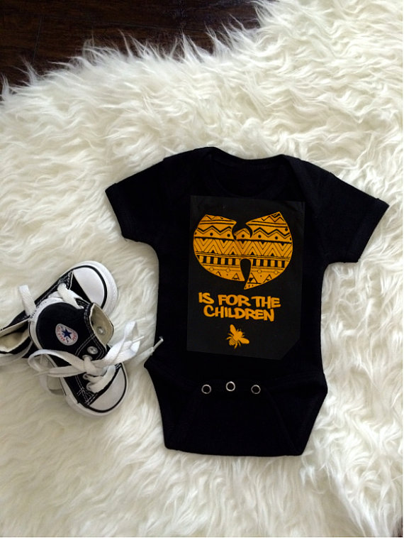 """""""WuTang is for the Children"""" Onesie"""