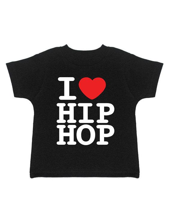 """I Love Hip Hop"" Kids Tee"