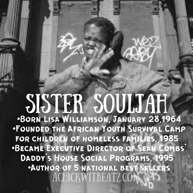 Sister Souljah Women's History Month