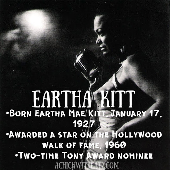 Eartha Kitt Women's History Month