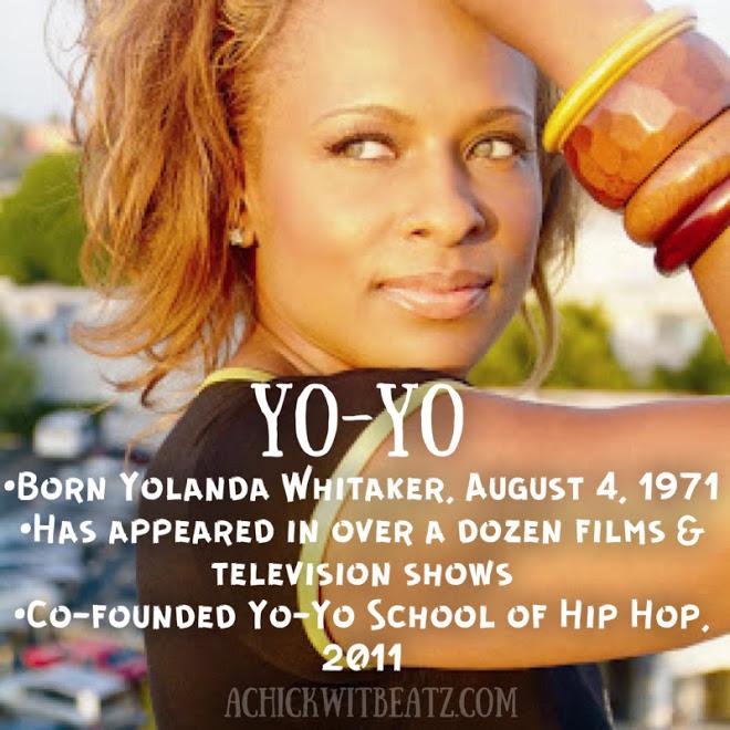 Yo-Yo Women's History Month
