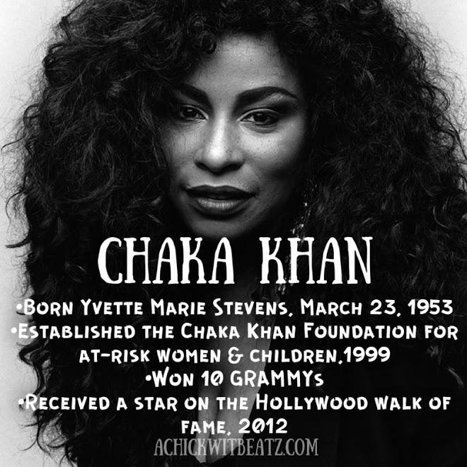 Chaka Khan Women's History Month