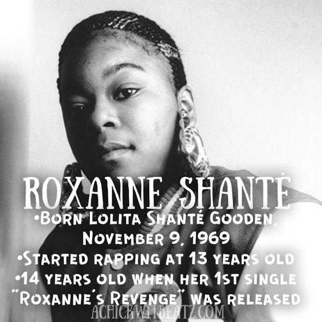 Roxanne Shante Women's History Month