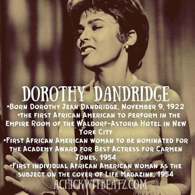 Dorothy Dandridge Women's History Month