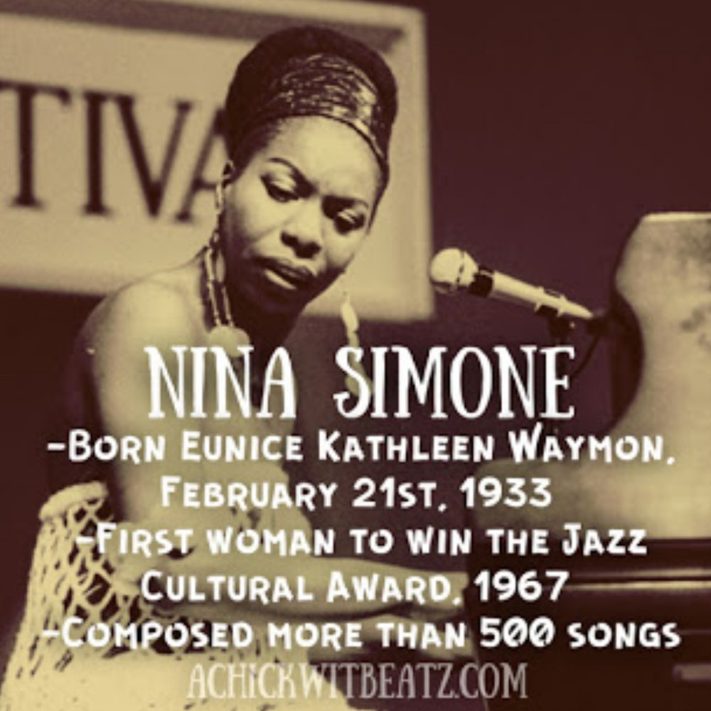 Nina Simone Women's History Month
