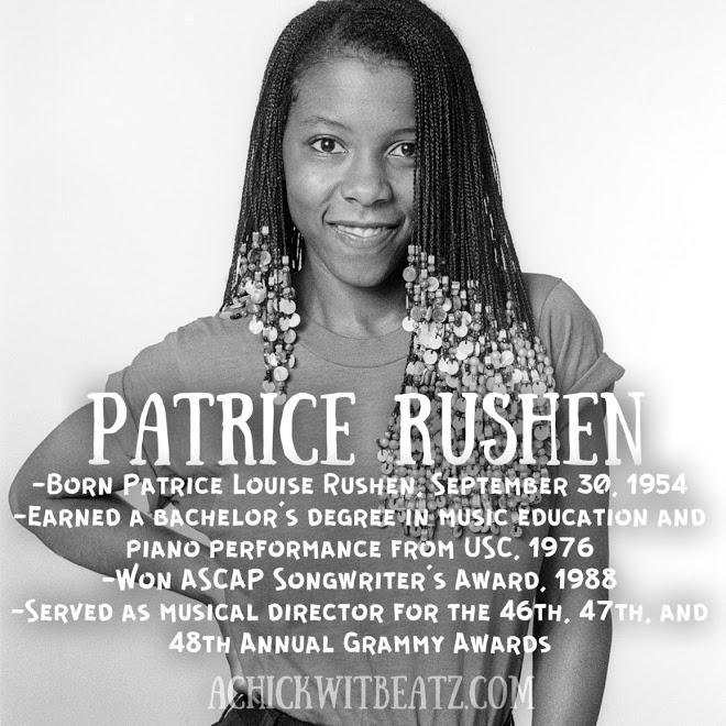 Patrice Rushen Women's History Month