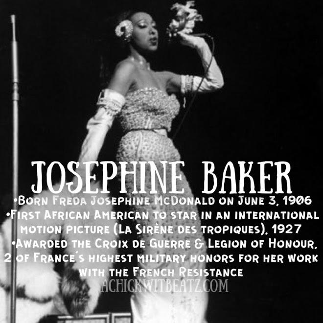 Josephine Baker Women's History Month