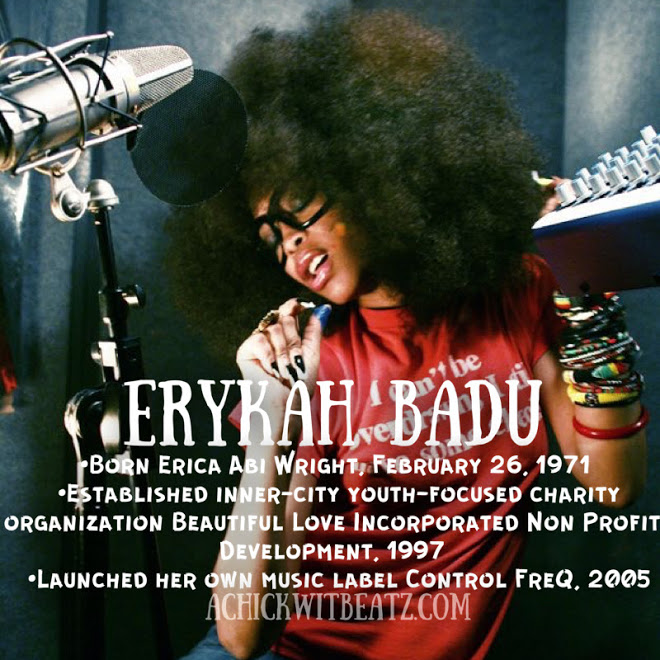 Erykah Badu Women's History Month