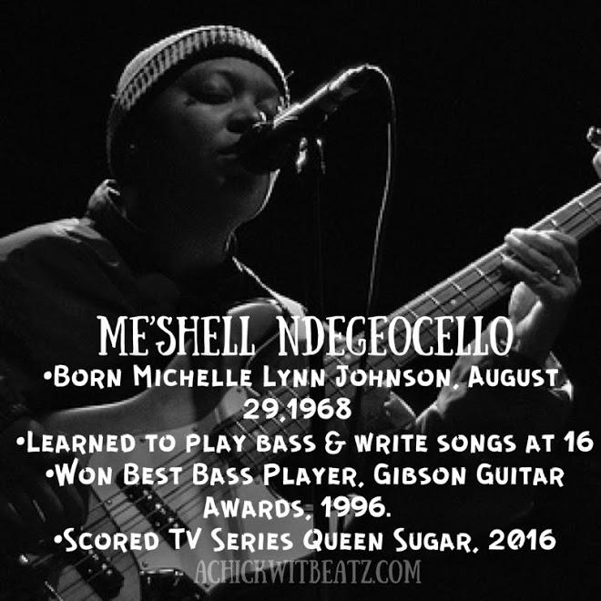 Meshell Ndegeocello Women's History Month