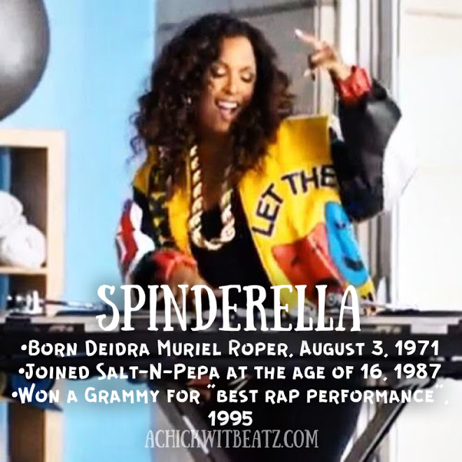 Spinderella Women's History Month